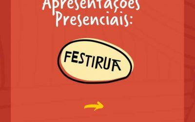 Bombinhas, Itapema e Porto Belo serão palco do 3ºFestirua. Participe!